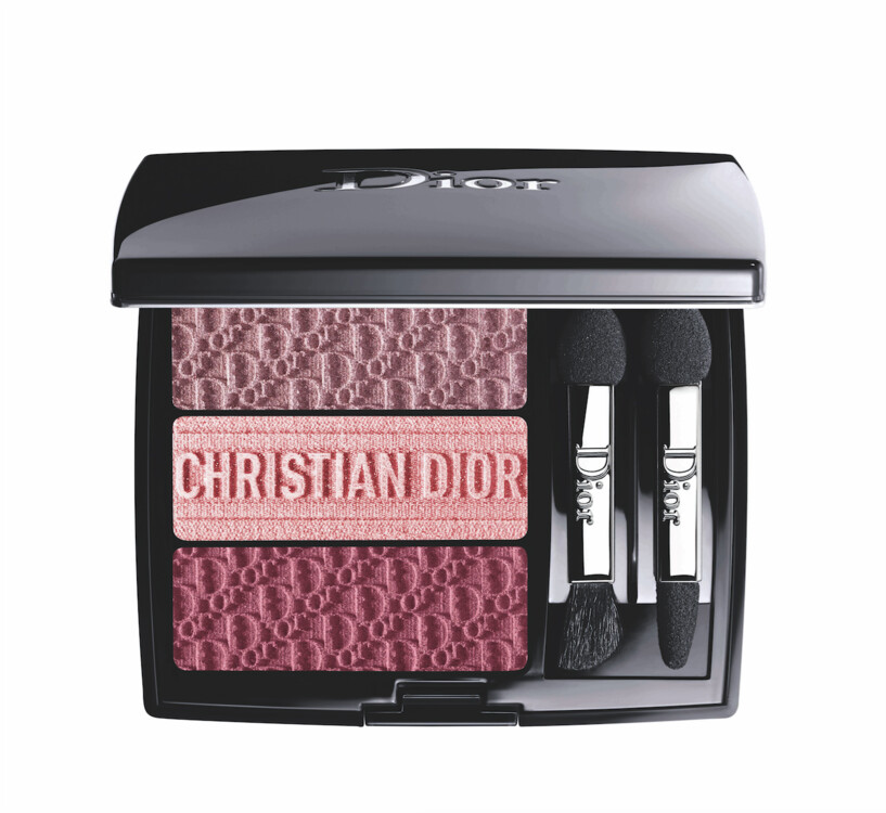 Тіні 3 couleurs Tri(o)blique №853 Rosy Canvas, Dior