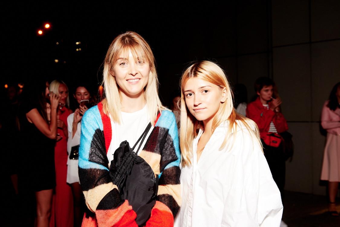 Татьяна Немченко и Ева Хобта