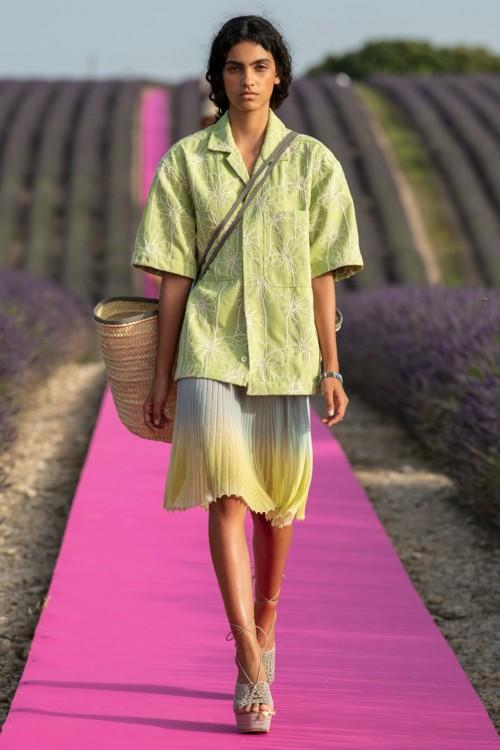 Градиентная юбка Jacquemus