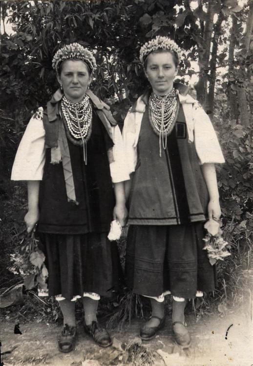Дівчата с. Вороньків  1950 р.