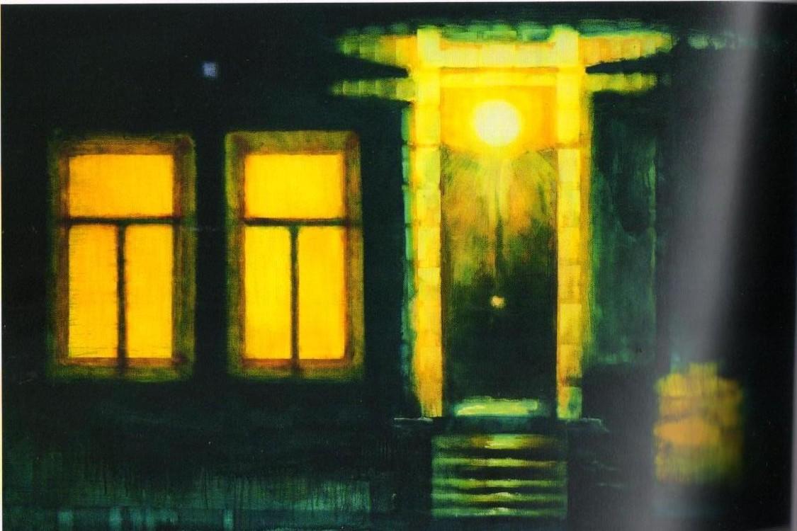"""""""Ночной подъезд"""", 2009 год"""