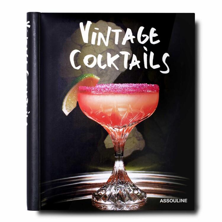 Книга Vintage Cocktails, Assouline