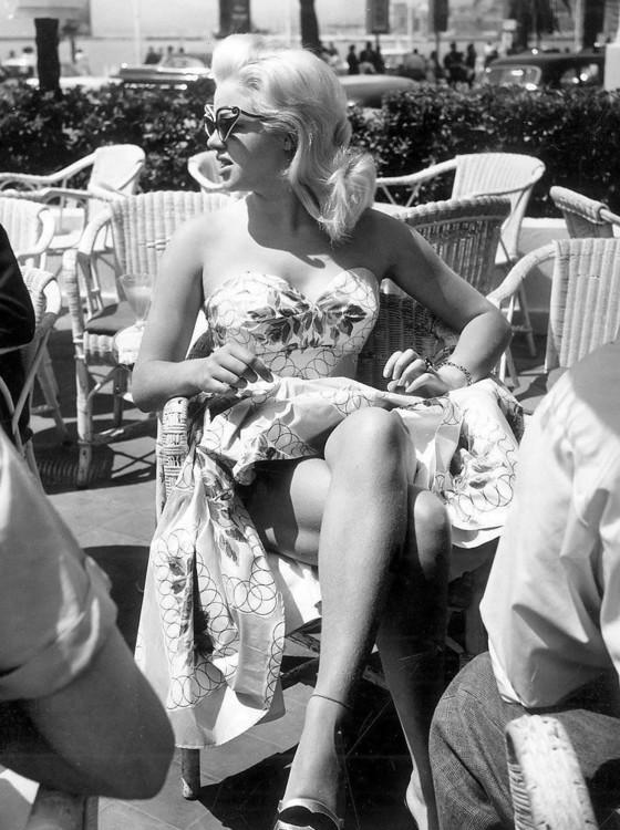 Актриса Диана Дорс, 1956 год
