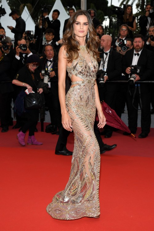 Ізабель Гулар у сукні Julien Macdonald та прикрасах Chopard