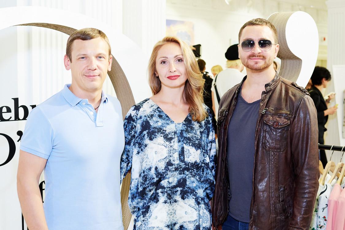 Роман Медынский, Алина Смолина и Олег Собчук