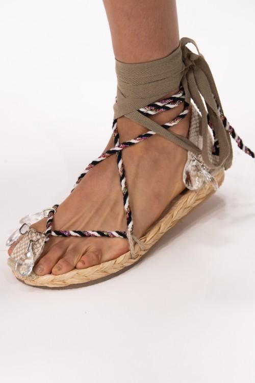 Веревочные сандалии в коллекциях весна-лето 2020 фото