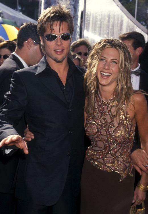 Брэд Питт и Дженнифер Энистон, 1999