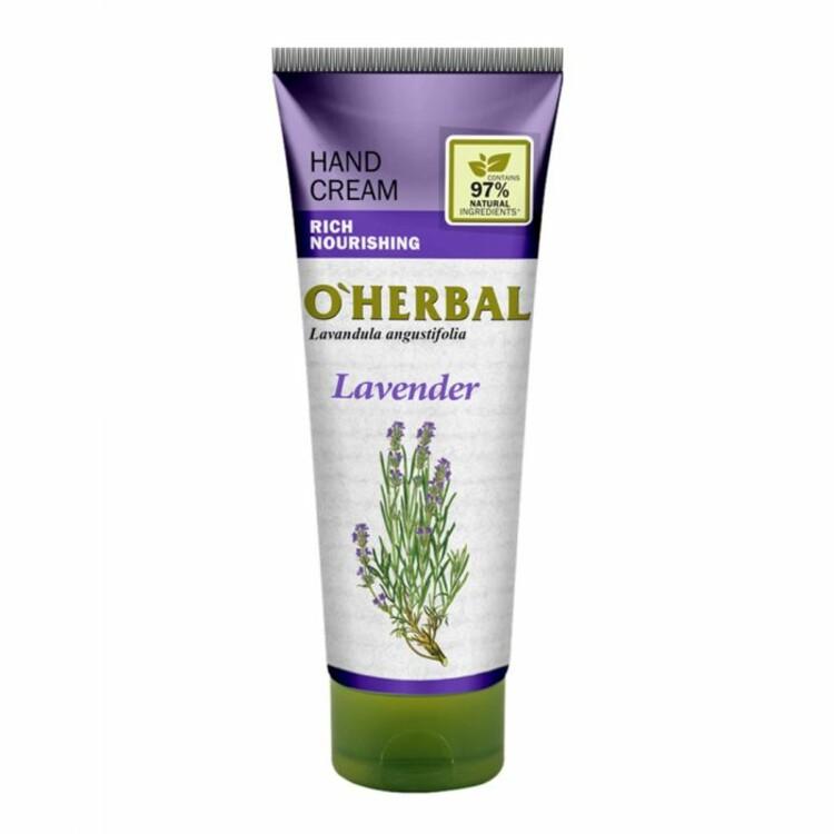 Крем для рук с лавандой,O'Herbal