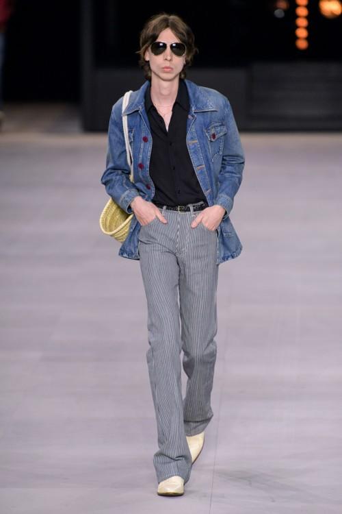 Джинсовые куртки в коллекциях весна-лето 2020 фото