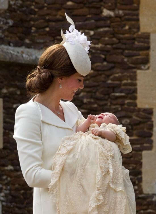 Принцеса Шарлотта Кембриджська, 2015