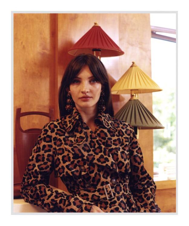 Леопардовое пальто Michael Kors Collection