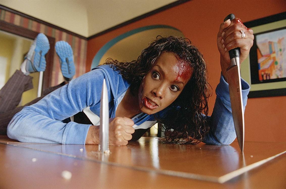 Кадр из фильма «Убить Билла», 2003