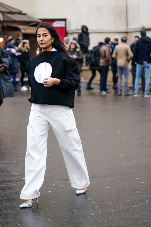 С чем носить белые джинсы этим летом стритстайл фото лето 2020 фото