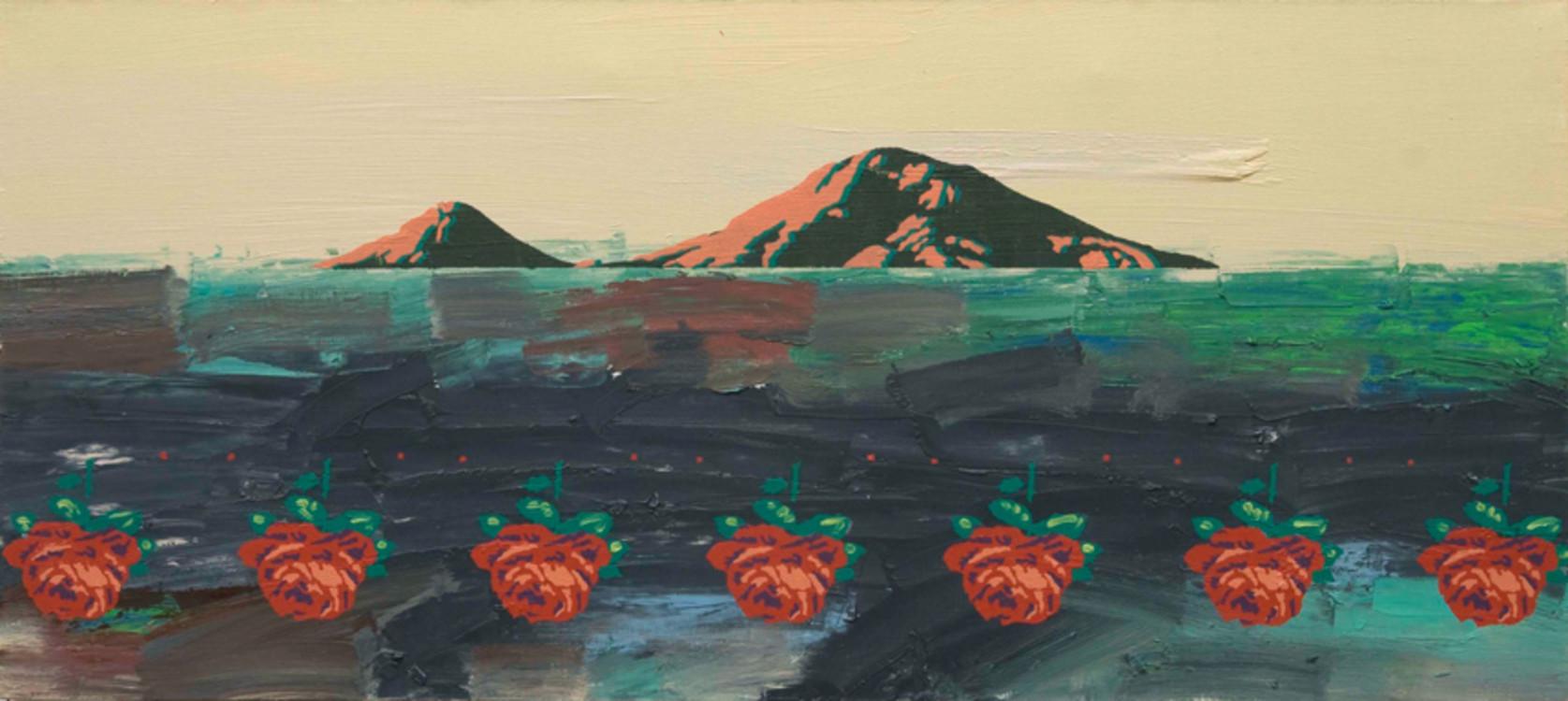 Олег Тистол, 2006, Из цикла Арарат, холст, масло