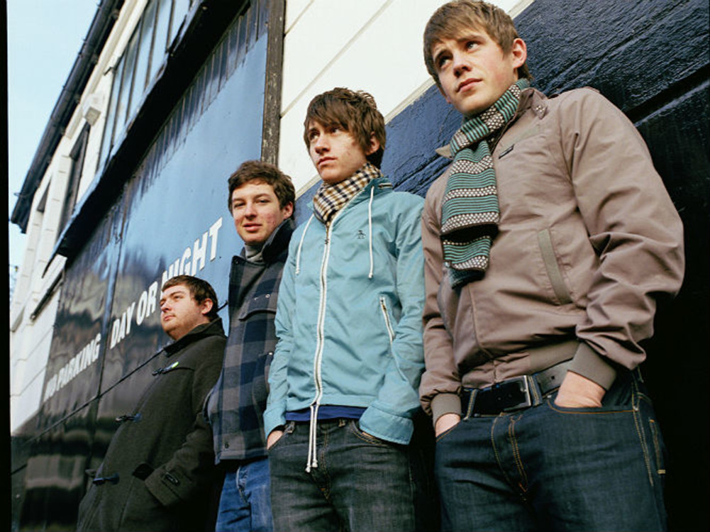 Arctic Monkeys в 2003 году