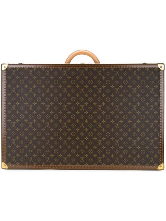 Коричневый монограммный чемодан Alzer 70, от Louis Vuitton Vintage