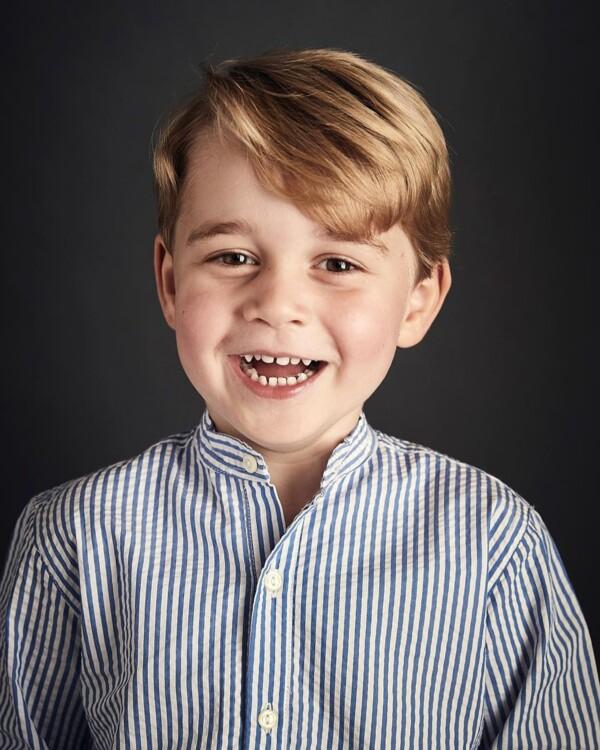 Принц Джордж Кембриджський, 2017