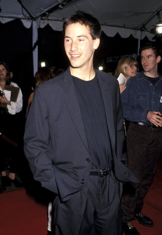 Кіану Рівз на прем'єрі фільму «Швидкість» у Лос-Анджелесі, 1994