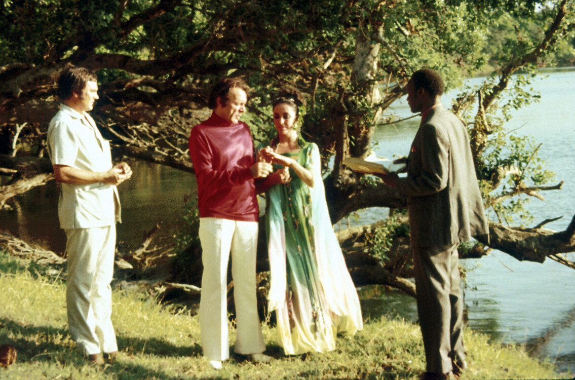 Свадебное платье Элизабет Тейлор, 1975