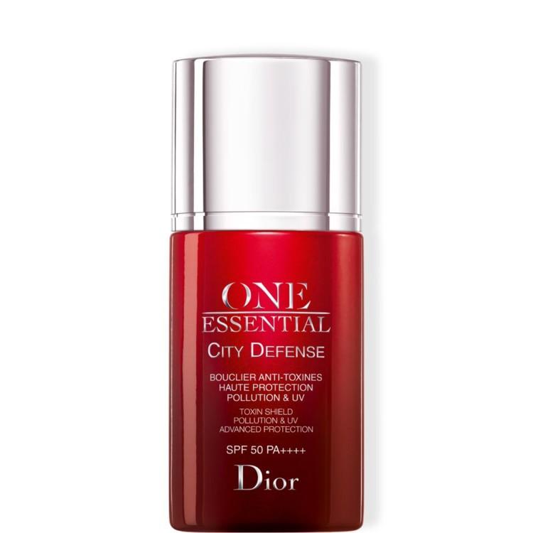Защитный экран против токсинов и загрязнений окружающей среды с усиленной UV-защитой City Defense One Essential, Dior, SPF 50 РА++++