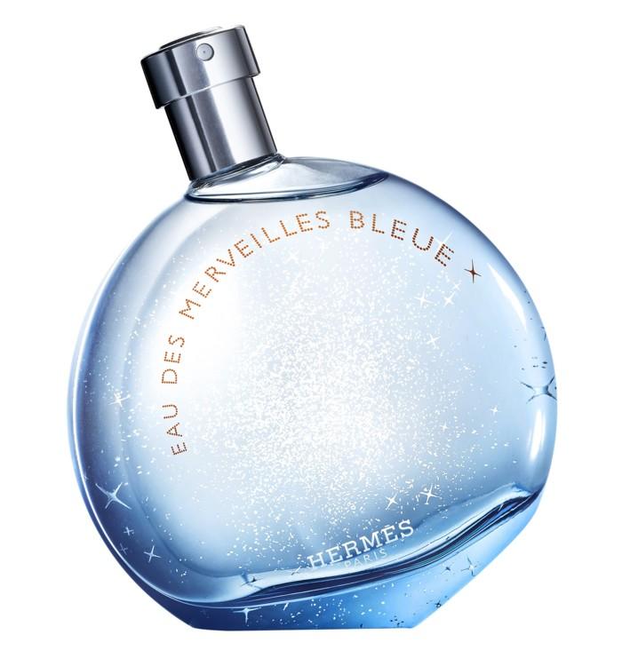 Eau des Merveilles Bleue, Hermès с капелькой лазури, магией океана и оттенком небесной синевы
