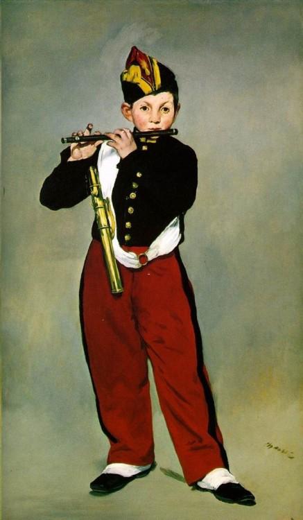 «Флейтист», 1866 (Музей Орсе, Париж)