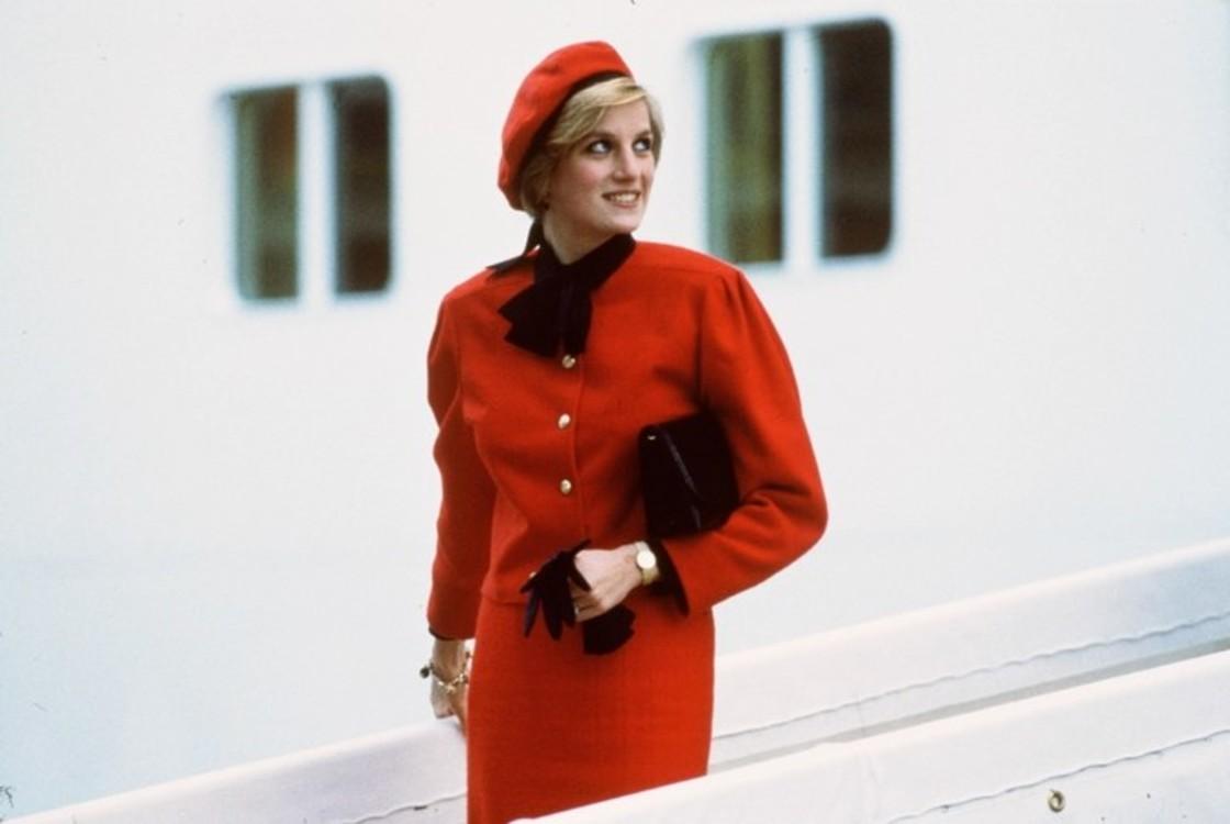 Принцесса Диана на борту круизного лайнера Royal Princess