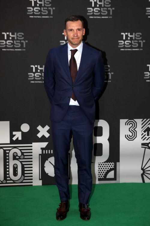 Андрей Шевченко перед церемонией награждения Best FIFA Football Awards, 2018