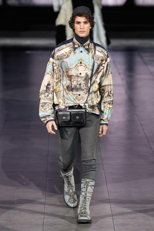 Dolce & Gabbana Menswear осень-зима 2020/2021
