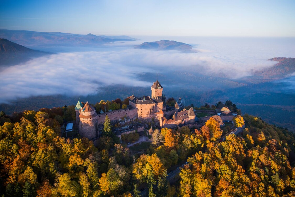 Замок Верхний Кенинсбург, Photo: Tristan Vuano