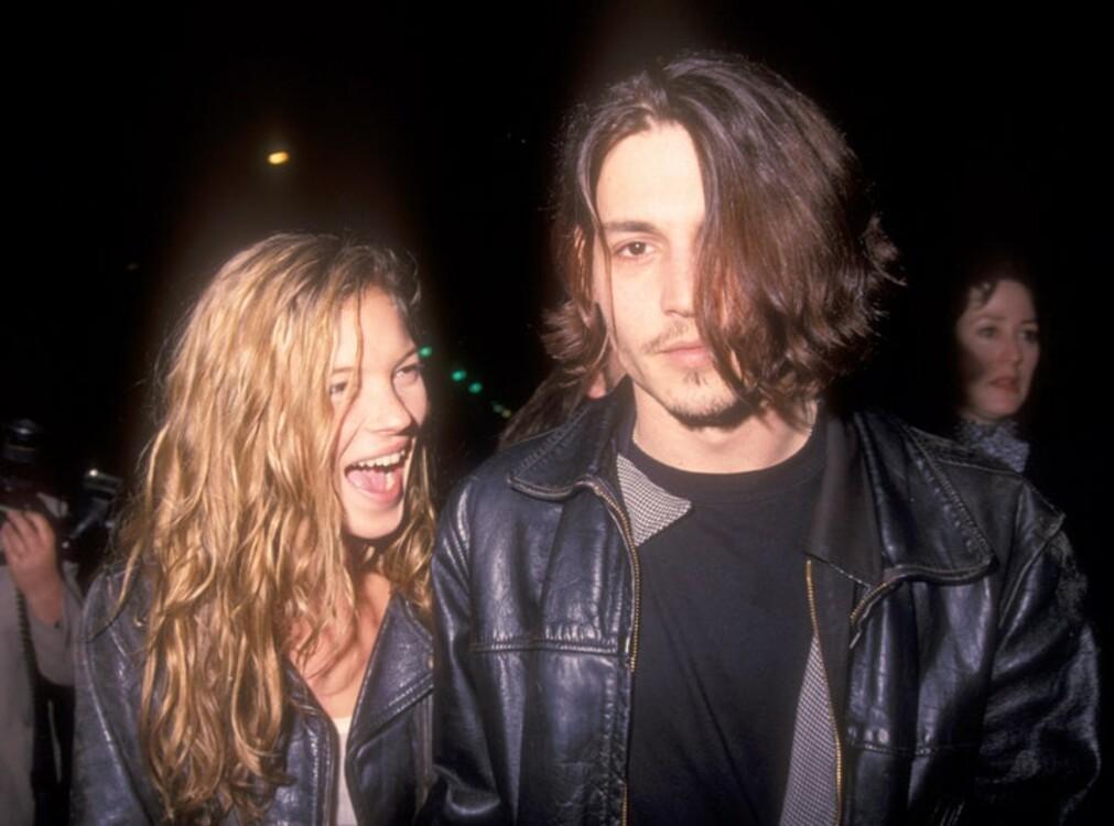 Кейт Мосс и Джонни Депп в Лос-Анджелесе