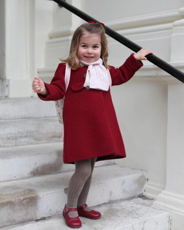 Принцеса Шарлотта Кембриджська, 2017