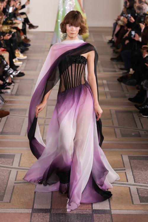 Ірина Кравченко на шоу Georges Chakra Couture весна-літо 2020