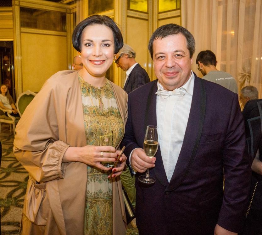 Соня Кошкина и Алексей Ботвинов