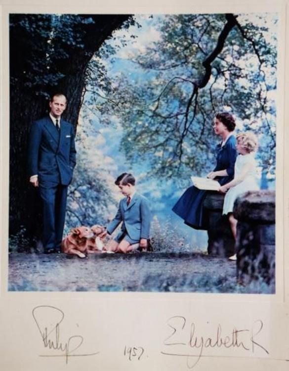 Британская королевская семья, 1957