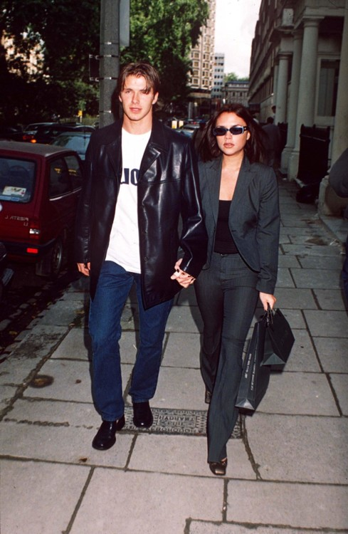 Дэвид и Виктория Бекхэмы, 1997