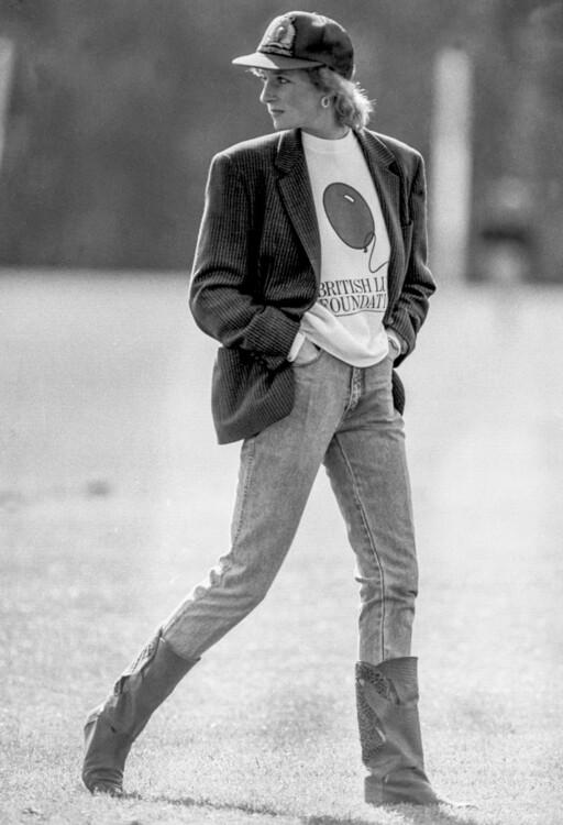 1988. На матче поло