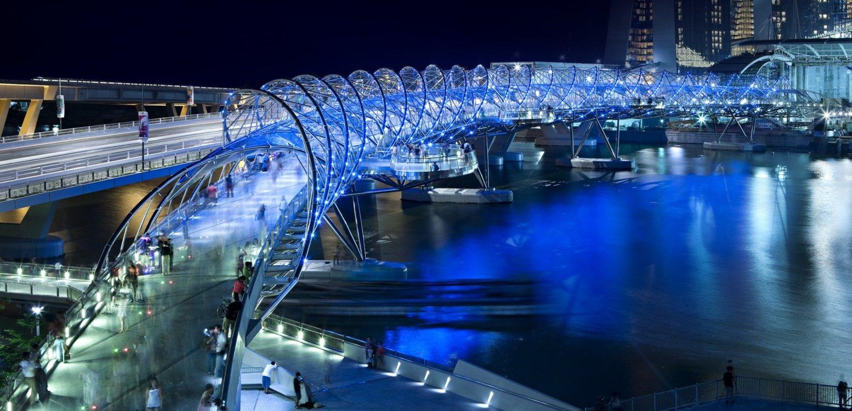 Хеликс Бридж, Сингапур