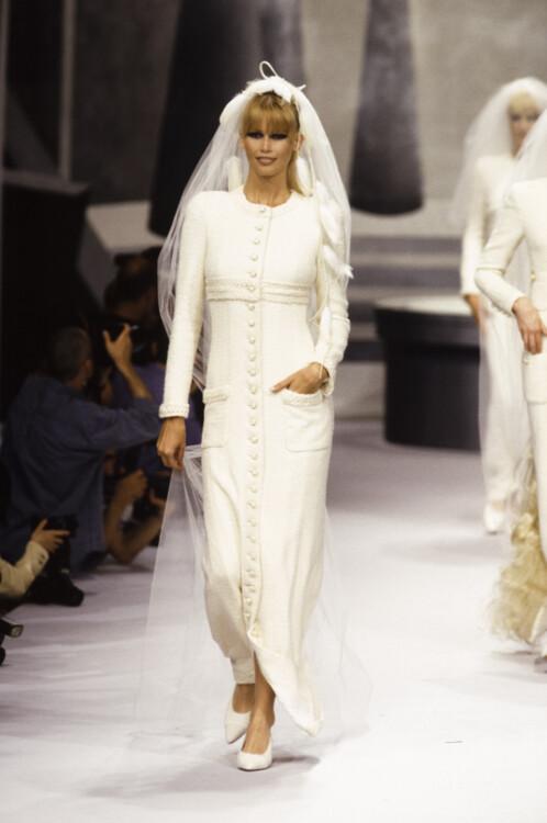 Chanel Haute Couture осень-зима 1994/1995
