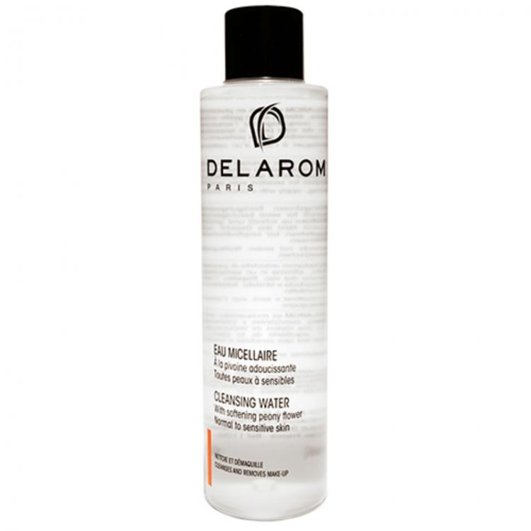 Мицеллярная гипоаллергенная вода-тоник для умывания, DELAROM