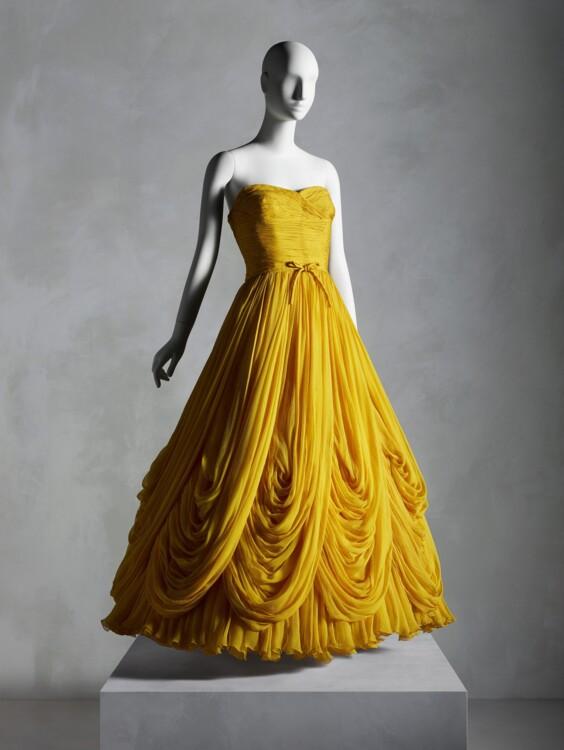 Вечернее платье Жана Дессе, осень-зима 1953–54; подарок Сэнди Шрайер