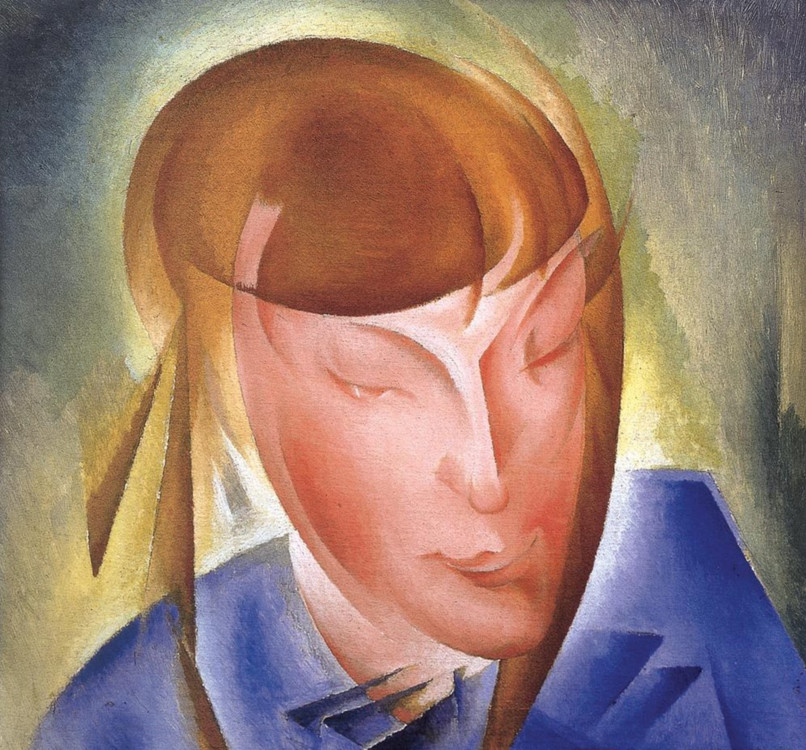 «Портрет дочери», 1928 (Частная коллекция)