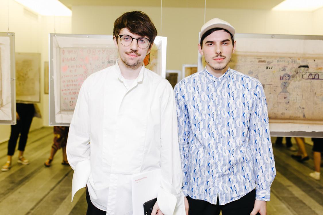 Руслан Багинский и Петр Ясинский