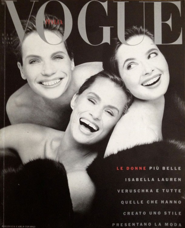 Vogue Italia, декабрь 1988