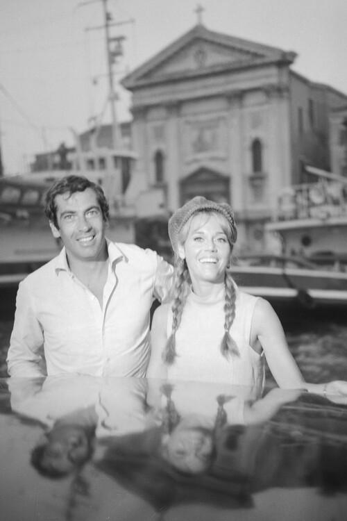 Роже Вадим и Джейн Фонда, 1966