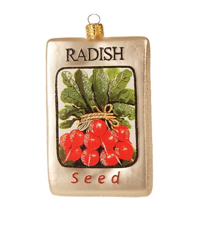 Елочная игрушка - семена редиса, Harrods
