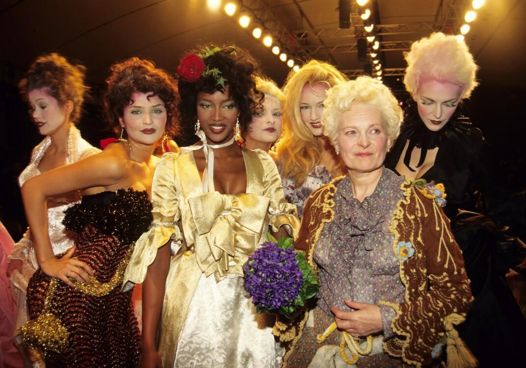 Вивьен Вествуд с моделями