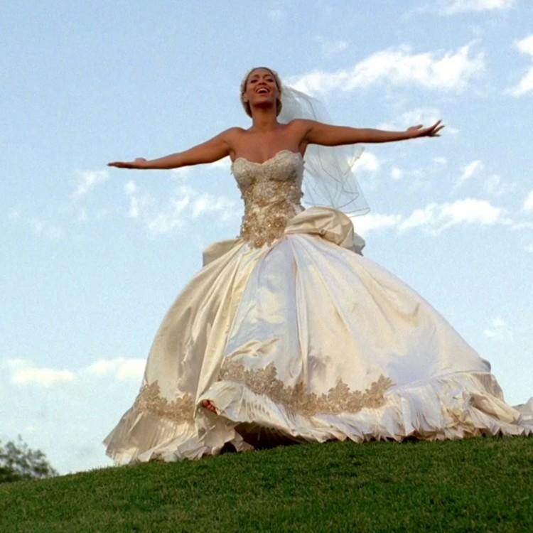 Бейонсе в платье от Тины Ноулз