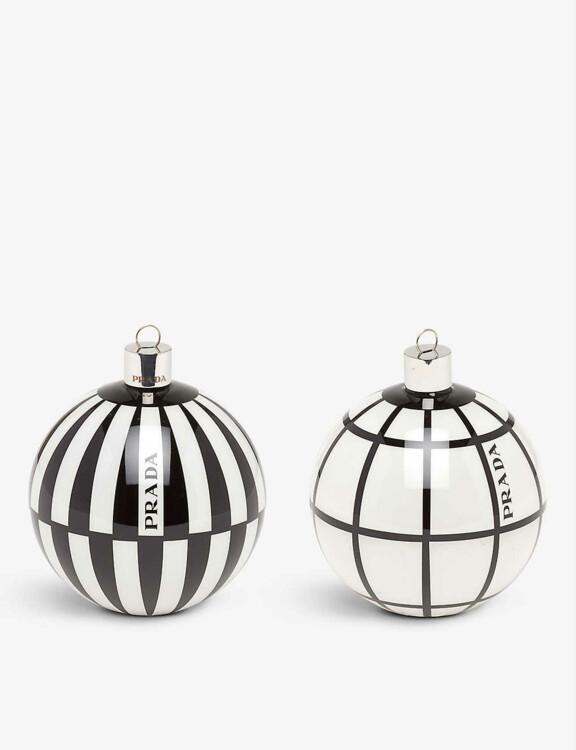Стеклянные шары Prada