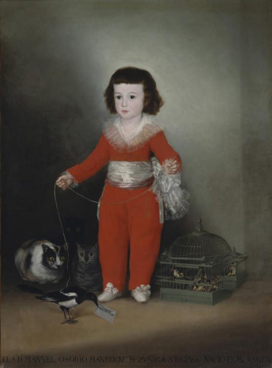 «Дон Мануэль Осорио Манрике де Суньига, ребёнок», 1788 (Метрополитен-музей, Нью-Йорк)